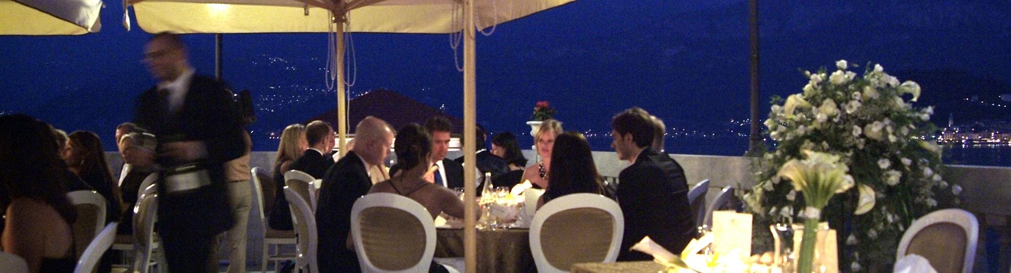 Vue de l'hotel Grand Hotel Cadenabbia 4* à Cadenabbia