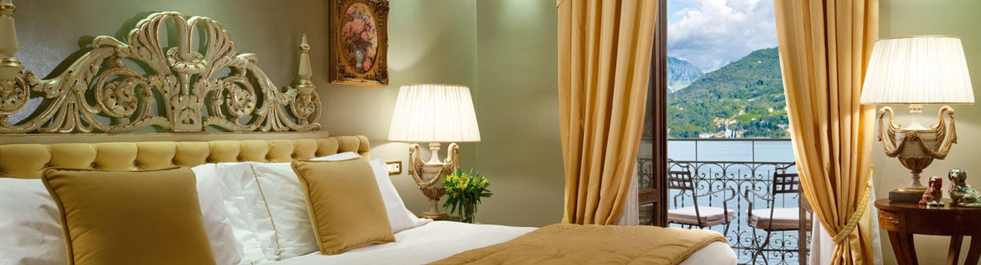 Vue de l'hotel Grand Hotel Tremezzo 5* à Tremezzo