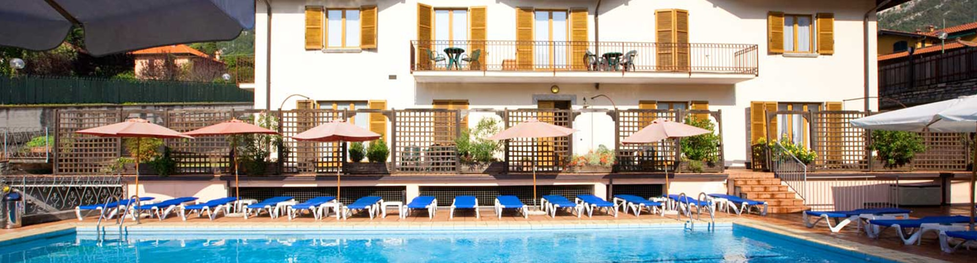Vue de l'hotel Hotel Albergo Lenno 4* à Lenno