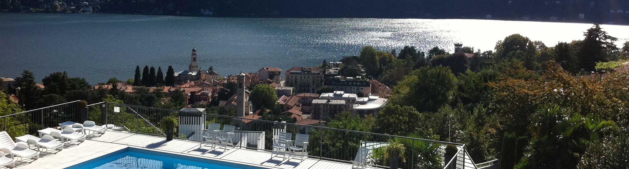 Vue de l'hotel Hôtel Asnigo 4* à Cernobbio