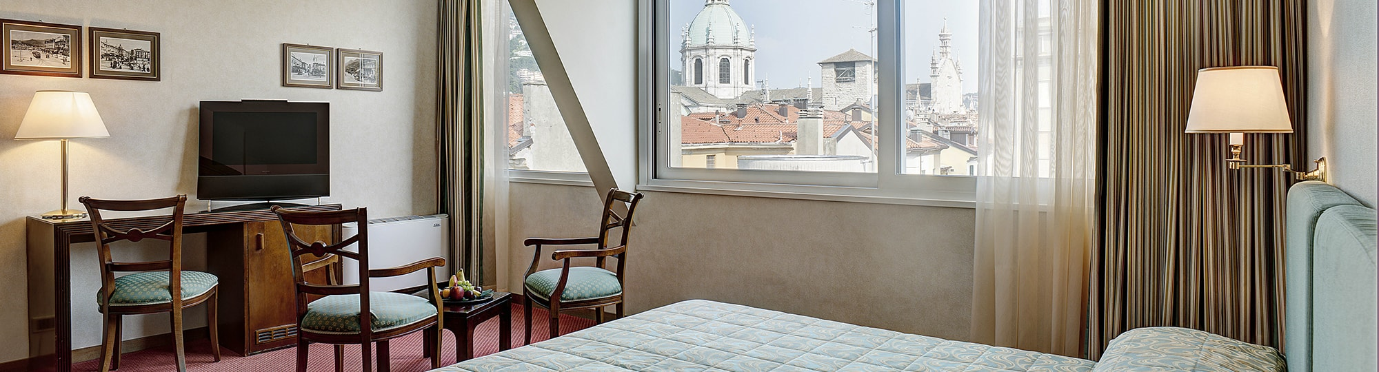 Vue de l'hotel Hotel Barchetta Excelsior 4* à Como