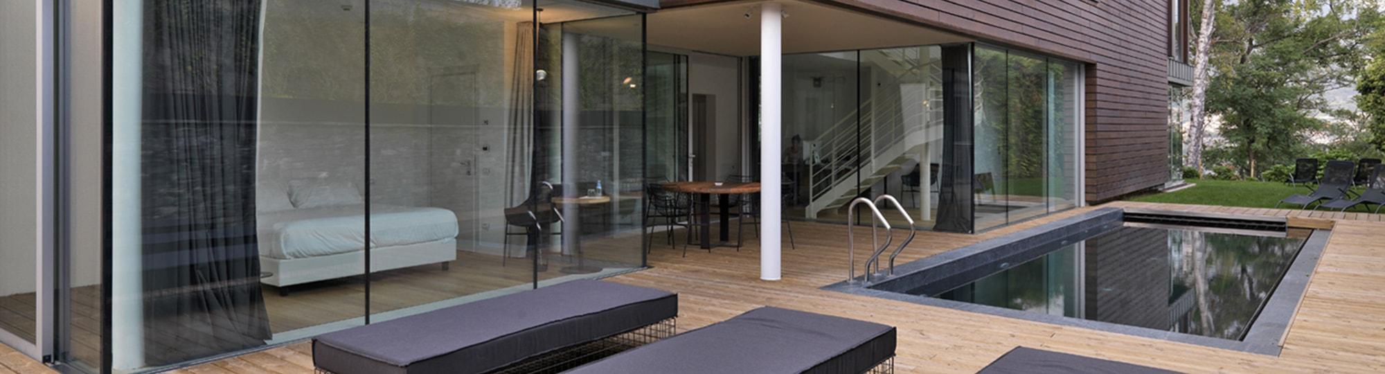 Vue de l'hotel Casa sull'Albero 4* à Malgrate
