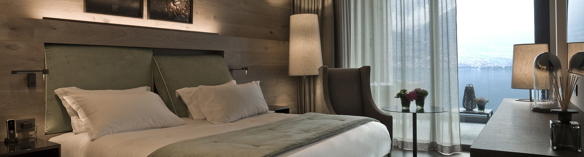 Vue de l'hotel Filario Hotel & Residences 4* à Lezzeno