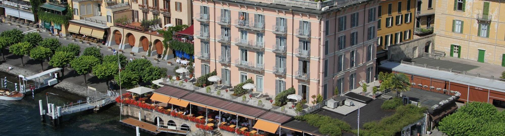 Vue de l'hotel Metropole Suisse 4* à Como