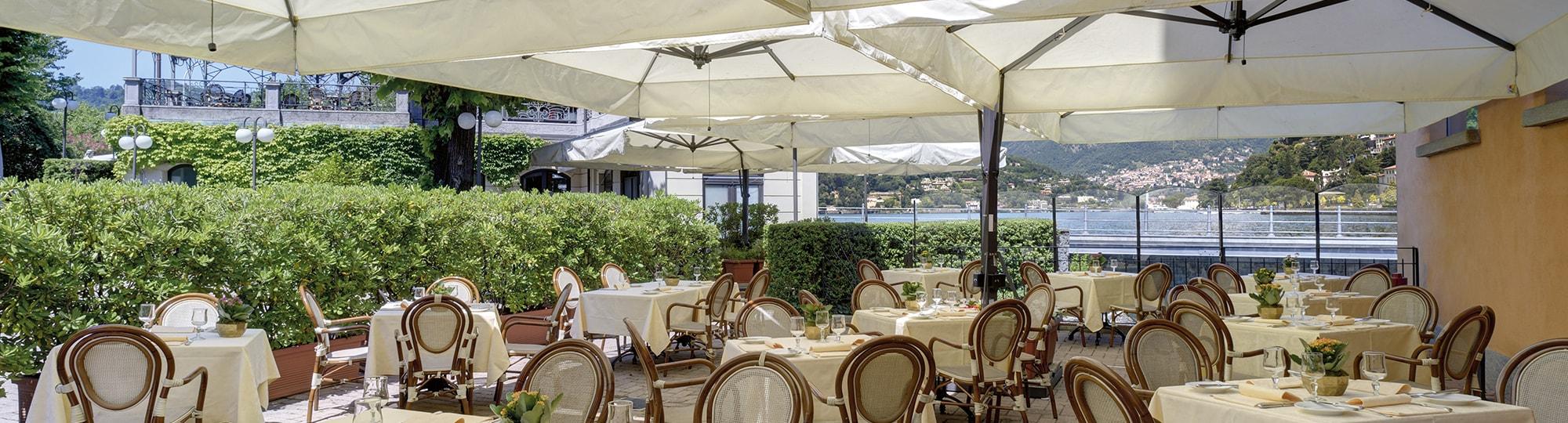 Vue de l'hotel Palace Hotel 4* à Como