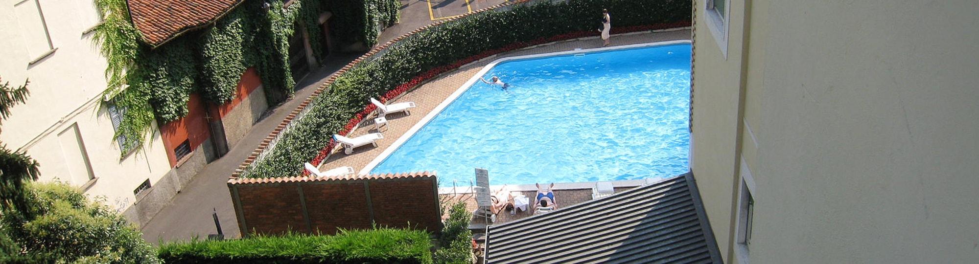 Vue de l'hotel Hotel Regina Olga 4* à Cernobbio