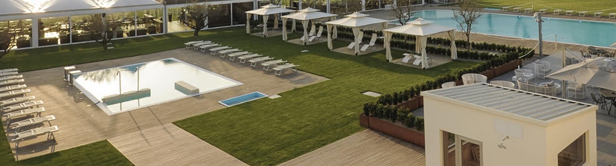 Vue de l'hotel Seven Park Hotel 4* à Colico