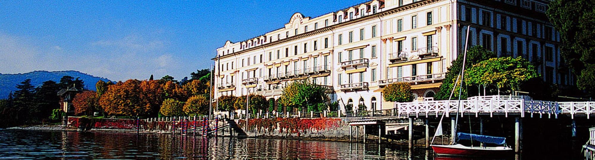 Vue de l'hotel Villa d'Este 5 * à Cernobbio