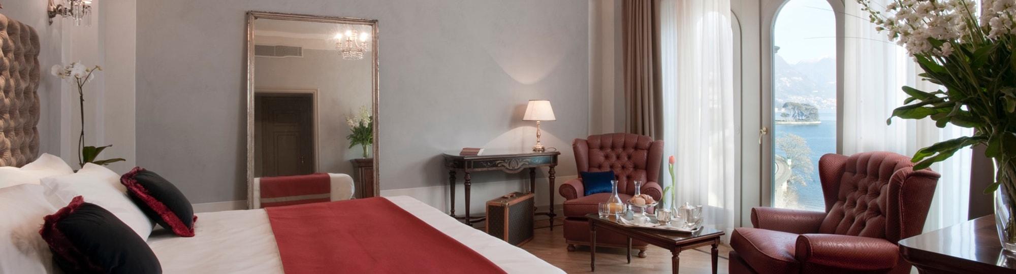 Vue de l'hotel Villa Flori 4* à Como