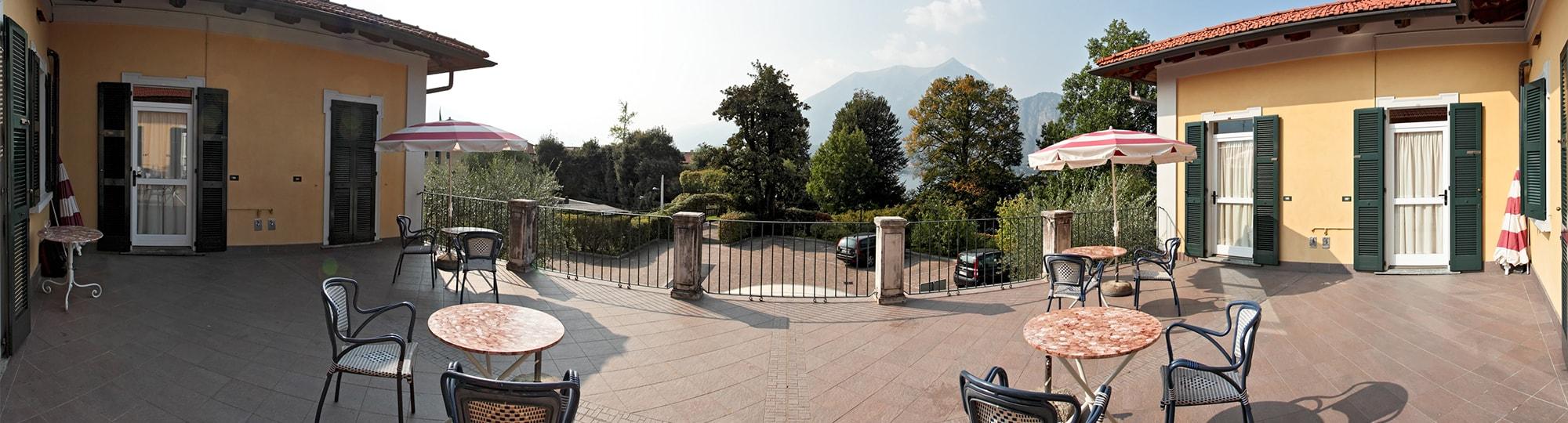 Vue de l'hotel Residence l'Ulivo Apartments 4* à Bellagio