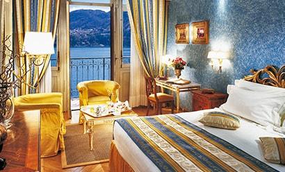Des Chambres de Prestige à l'hôtel Grand Hotel Tremezzo 5*