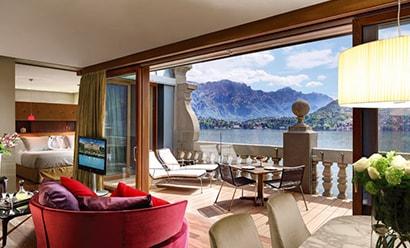Rooftop Penthouse à l'hôtel Grand Hotel Tremezzo 5*