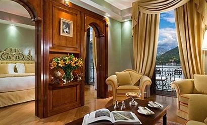 Suites Historiques, Rooftop, et Emilia à l'hôtel Grand Hotel Tremezzo 5*