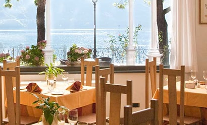 Restaurant de l'Hôtel à l'hôtel Hotel Albergo Lenno 4*