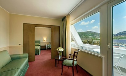 De Belles Suites avec Terrasse à l'hôtel Hotel Barchetta Excelsior 4*