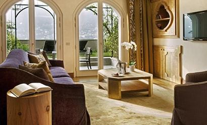 Penthouses & Villas de Charme à l'hôtel Casta Diva Resort & Spa 5*