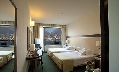 Des Chambres Lumineuses à l'hôtel Clarion Collection Hotel Griso Lecco 4*