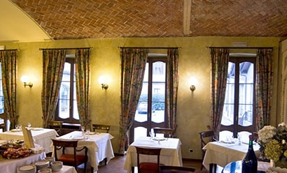 Restaurant de l'Hôtel à l'hôtel Le Due Corti 4*