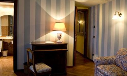 Suites Junior à l'hôtel Le Due Corti 4*