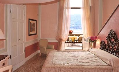 Des Chambres Classiques de Charme à l'hôtel Grand Hotel Cadenabbia 4*
