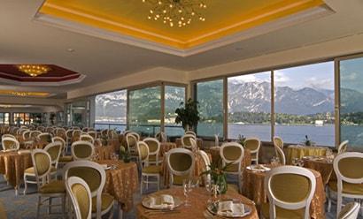 Restaurants  à l'hôtel Grand Hotel Cadenabbia 4*