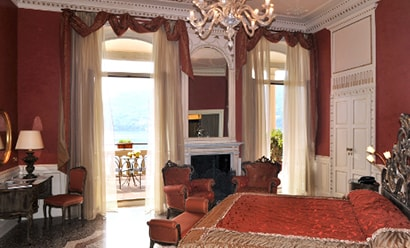 Des Suites à la Décoration d'Epoque à l'hôtel Grand Hotel Cadenabbia 4*