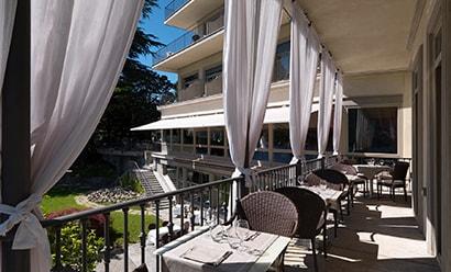 Restaurant  à l'hôtel Villa Flori 4*