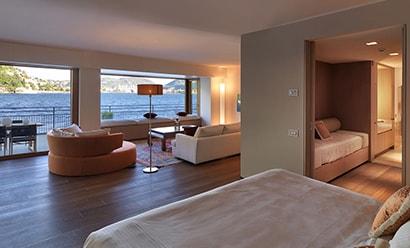 Junior & Gran Lago Suites à l'hôtel Villa Flori 4*