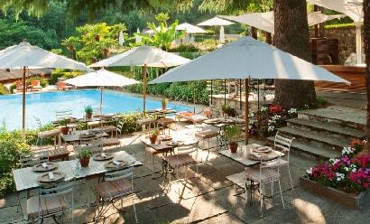 Restaurants « Veranda » et « Grill » à l'hôtel Villa d'Este 5 *