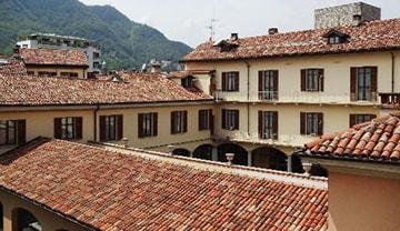 à Como, Italie