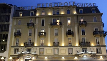 Metropole Suisse 4* à Como, Italie