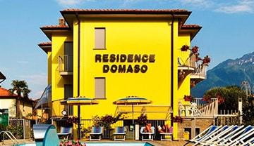 à Domaso, Italie